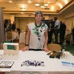 Me at my Business forum stand