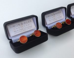 Simon Webb cufflinks