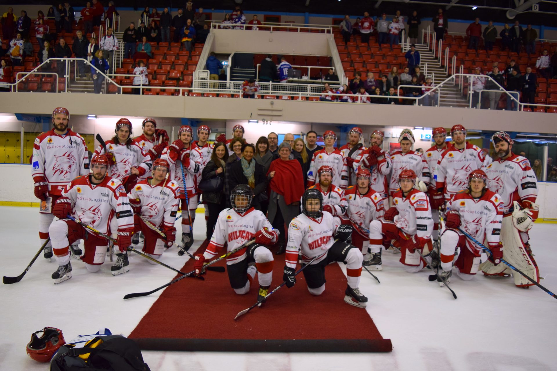 Purrfect fun with the Swindon Wildcats