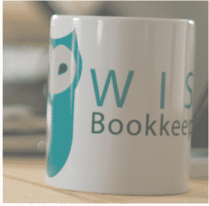 wise bookkeeping mug