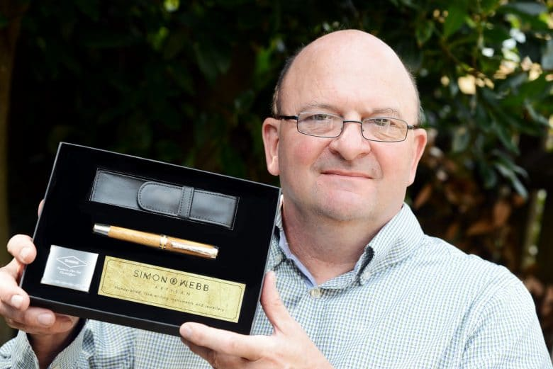Simon Webb: Artisan pens and accessories