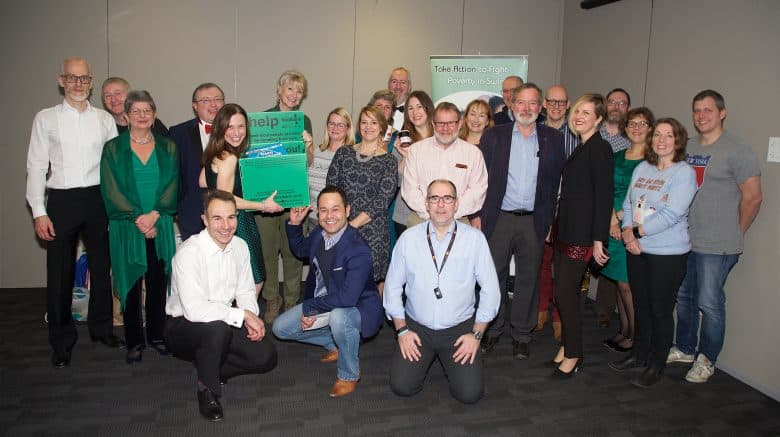 Food, festive fun, business and breakfast – business networkers support Swindon Food bank
